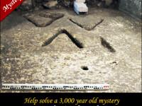 Cel mai mare mister din Orasul Sfant. Expertii nu stiu sa descifreze un semn vechi de 3.000 de ani