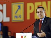 Ponta: Parlamentarii puterii primesc 100.000 de Euro pentru a vota bugetul, le facem plangere penala