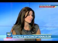 (P) Oana Cuzino si Dr. Gabriela Cotarcea, despre efectele adverse ale anticonceptionalelor