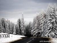 Vremea de Craciun. Afla unde ninge pana in Ajun si cum va fi la munte. HARTA stratului de zapada