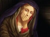 FOTO. Cea mai mare blasfemie comisa vreodata de o biserica. Ce face Fecioara Maria in acest afis