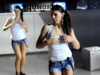 VIDEO.Scandal la un liceu din Bacau. Eleve de clasa a IX-a, in ipostaze indecente la balul bobocilor
