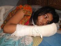 O lume nebuna. Un musulman i-a taiat degetele sotiei sale pentru ca nu-si doreste o femeie educata