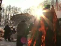 Turistii care s-au indreptat spre munte au gasit un Craciun ca in povesti pe Valea Prahovei