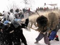 Mai sunt cateva ore pana la traditionala lupta cu masti de la Ruginoasa.Ce primesc castigatorii