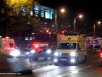 Opt persoane au fost ranite usor, joi, in urma unui accident produs in localitatea mureseana Suseni