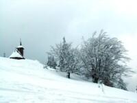 Apa de Boboteaza pentru schitul din Straja. Provine din izvoare de la peste 1.700 metri altitudine