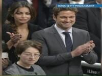 Madalina Ghenea, la bratul lui Gerard Butler la ceremonia de decernare a premiului Nobel