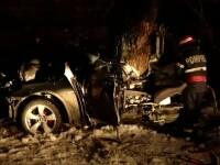 Accident cu trei morti. A vrut sa testeze limitele bolidului luat dupa o vara de munca in Germania