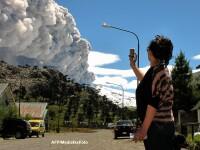 Panica in Argentina si Chile. Vulcanul Copahue este gata sa erupa