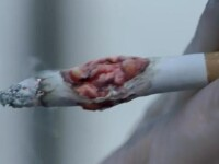 VIDEO. Metoda socanta prin care o reclama antifumat face legatura intre tigari si cancer