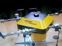 Amazon testeaza livrarea aeriana, in fata usii, cu drone care sa livreze produse in 30 de minute