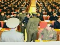 Phenianul prezinta imagini cu unchiul lui Kim Jong-un inlaturat cu forta de la o reuniune