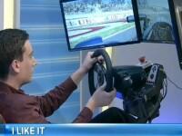 Doi romani au pus pe roate un simulator auto cu cele mai tari senzatii pentru pasionatii de curse