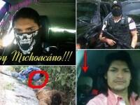 Se folosesc de Facebook pentru a-si intimida adversarii. Imagini din vietile traficantilor mexicani