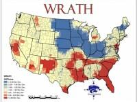 Cum arata harta Statelor Unite in functie de cele 7 pacate capitale