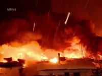 Sase copii si doi adulti, intoxicati cu fum intr-un incendiu la o garsoniera din Bucuresti