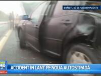 Carambol teribil pe autostrada Sibiu-Orastie, inaugurata in urma cu cateva zile