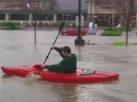 COD GALBEN de inundatii pe rauri din noua judete, de vineri pana duminica. Harta zonelor afectate