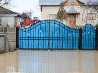 Cod galben de inundatii pe rauri din 7 judete din nord-vestul tarii, pana marti la ora 16:00