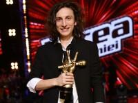 VOCEA ROMANIEI, sezonul 4. Prima reactie a lui Tiberiu Albu dupa ce a castigat marea finala si premiul de 100.000 de euro