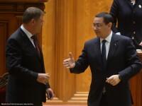 Iohannis pledeaza pentru schimbarea Guvernului,