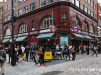 Anuntul in limba romana care a aparut in centrul Londrei.