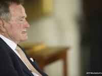 Fostul preşedinte american George H.W. Bush a fost spitalizat