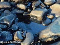Scurgere de petrol in Marea Neagra. Din cauza vremii nefavorabile, pata s-ar putea extinde. VIDEO