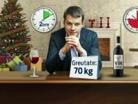 Informatii utile pentru cei care obisnuiesc sa consume alcool de Sarbatori: In cat timp se elimina din organism 750ml de vin