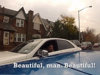 Cum reactioneaza oamenii cand vad un Lamborghini. Un sofer a instalat camere de filmat pe bolidul sau si a iesit la plimbare