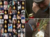 40 de zile de la incendiul din Colectiv: Rudele decedatilor s-au intors la locul tragediei. Care este acum starea ranitilor