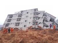 Cel putin 91 de disparuti dupa uriasa alunecare de teren din China. 33 de cladiri au fost ingropate. VIDEO
