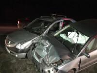 Accident pe o sosea din Suceava. Un sofer in varsta de 60 de ani si-a pierdut viata din cauza propriei imprudente