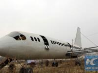Un fermier analfabet din China a construit singur un avion urias, insa toti raman surprinsi cand afla ce este inauntru