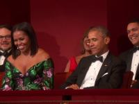 Al Pacino si trupa The Eagles, onorati de presedintele Obama. \