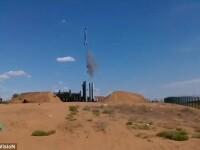 Exercitiul militar rus care a decurs cum nu se putea mai rau. Ce a lovit racheta la doar cateva secunde dupa lansare. VIDEO