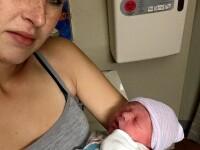 Drama unei mame care s-a trezit si a descoperit ca bebelusul ei era mort, langa ea: \