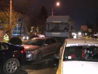 Dosar penal în cazul jandarmului care a condus sub influența alcoolului și a lovit șase mașini