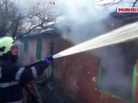Două persoane, mamă și fiu, au murit în incendiul care le-a cuprins casa, în Galați