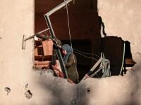 Israelul i-a atacat cu avioane pe palestinienii din Fâșia Gaza