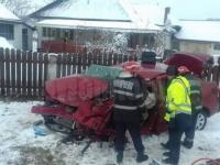 Accident grav în Suceava. Un bărbat și-a pierdut viața și alți 3 răniți au ajuns la spital