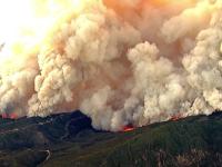 Pompierii folosesc dronele ca să lupte cu incendiile în California