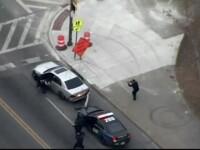 Urmărire cu focuri de armă, În SUA. Şoferul ar fi împuşcat trei oameni