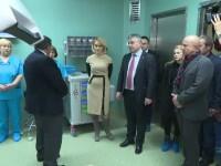 """Primarul Firea și ministrul Bodog, enervați de întrebările presei, la inaugurarea noului Spital """"Foișor"""""""