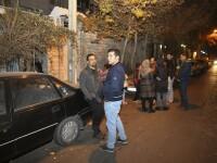 Cutremur de 5,2 in Iran, în apropierea capitalei Teheran