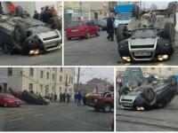 Accident uluitor în Arad. Cum a fost găsit șoferul în mașină