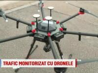 """Agenții rutieri vor monitoriza traficul cu drone, """"ochii din cer ai polițiștilor"""""""