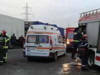 Coliziune violentă între un TIR și un microbuz: nouă victime. A fost activat planul roșu de intervenție