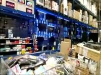 Anchetă la Craiova în cazul bărbatului care a murit la cumpărături, în hipermarket